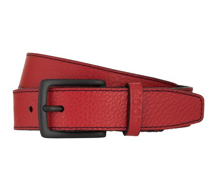 JOOP! Gürtel Herrengürtel Ledergürtel Rot 7895 – Bild 1