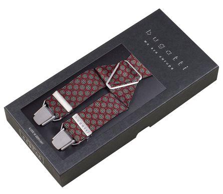 bugatti Hosenträger Herrenhosenträger 120 cm Bordeaux 7955 – Bild 4