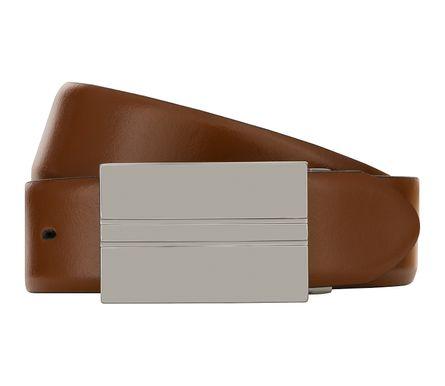 LLOYD Men's Belts Gürtel Herrengürtel Ledergürtel Cognac 8102 – Bild 1