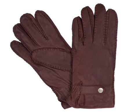 LLOYD Herrenhandschuhe Handschuhe Ziegenleder, Vintage, Handgenäht Braun 8368 – Bild 1
