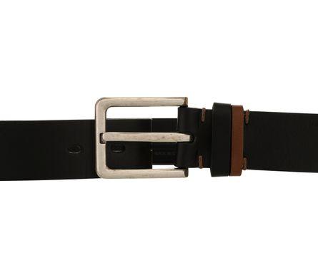 LLOYD Men's Belts Gürtel Herrengürtel Ledergürtel Vollrindleder Schwarz 8381 – Bild 3