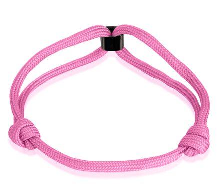 Skipper Armband Surferband Segelknoten maritimes Armband mit Logo Rosa 8479 – Bild 3