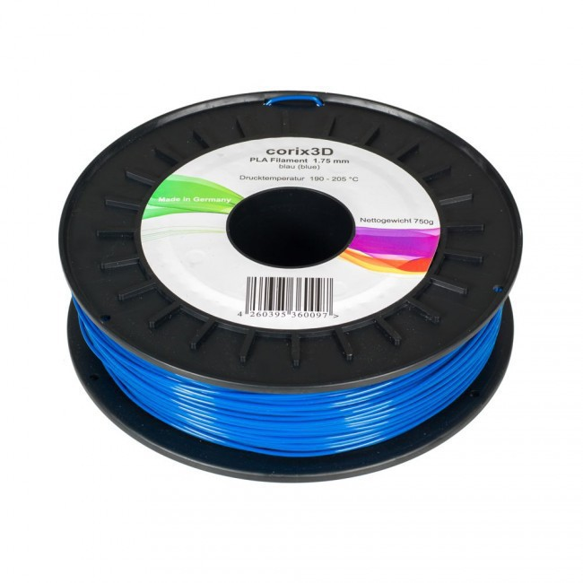 Corix3D PLA Filament 750g, blau, 1.75mm