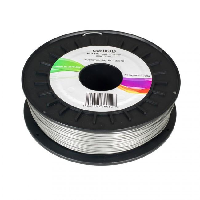 Corix3D HiPS Filament silber 1,75mm 750g