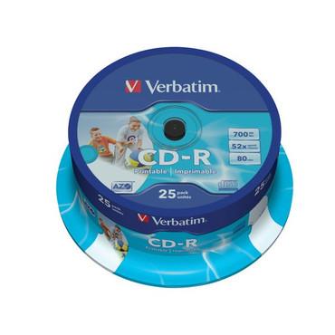CD-R Verbatim 25er Spindel (43439)