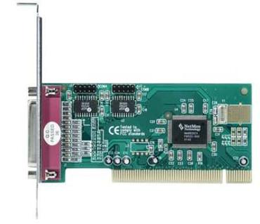 I/O Controller Card / Serielle Schnittstelle / Parallele Schnittstelle / Longshine LCS-6022 PCI