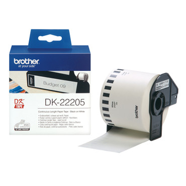 Endlos-Etiketten (Papier) Brother P-Touch DK-22205