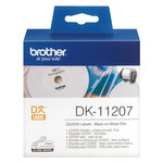 CD/DVD-Etiketten Brother P-Touch DK-11207 001