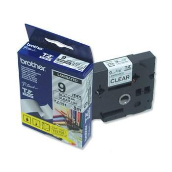 Schriftbandkassette Brother TZ-121 9mm