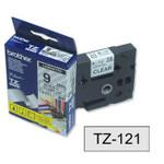 Schriftbandkassette Brother TZ-121 9mm 001