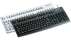 Komfort-Tastatur Cherry G83-6105LUNDE-2 / schwarz