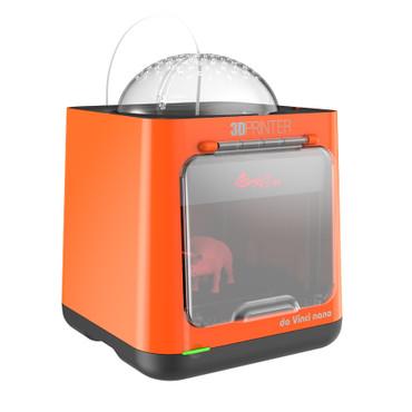 XYZprinting da Vinci Nano, orange, seitentansicht XYZprinting da Vinci Nano, orange, seitentansicht