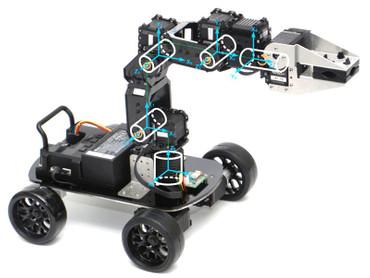 XYZrobot Robot Arm EU+ Wheel
