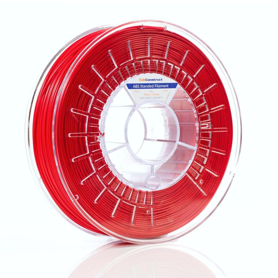 Fabconstruct ABS Xtended rot 1.75mm 750g