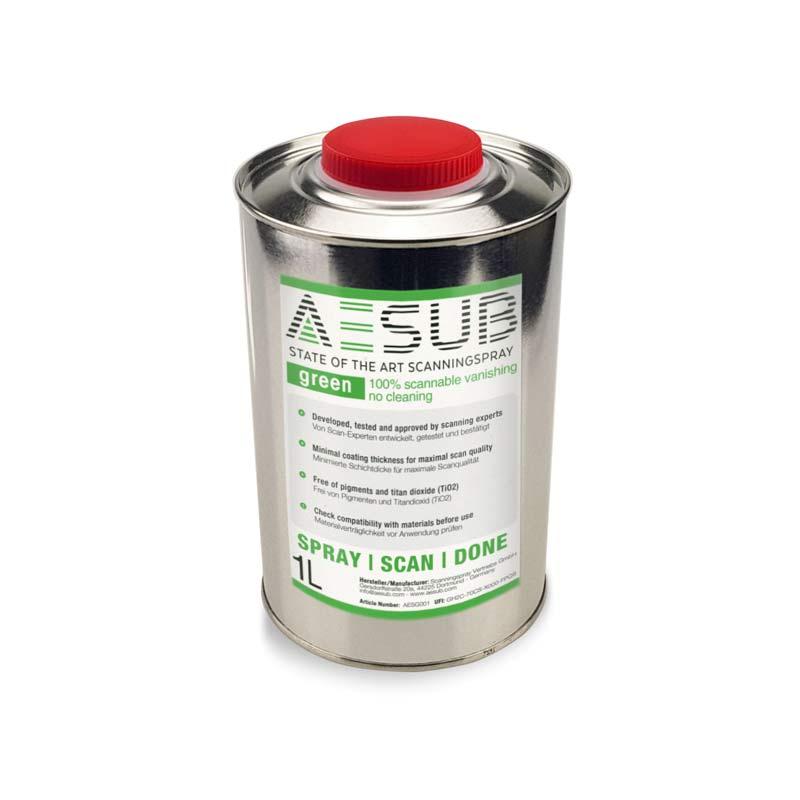 AESUB green 3D SCANNING-SPRAY