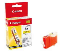 Tintenpatrone Canon BCI-6Y yellow (gelb)