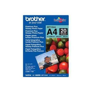 Brother BP71GA4 Premium Plus Glossy Photo-Papier