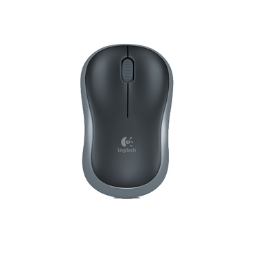Logitech Wireless Mouse M185 schwarz-grau