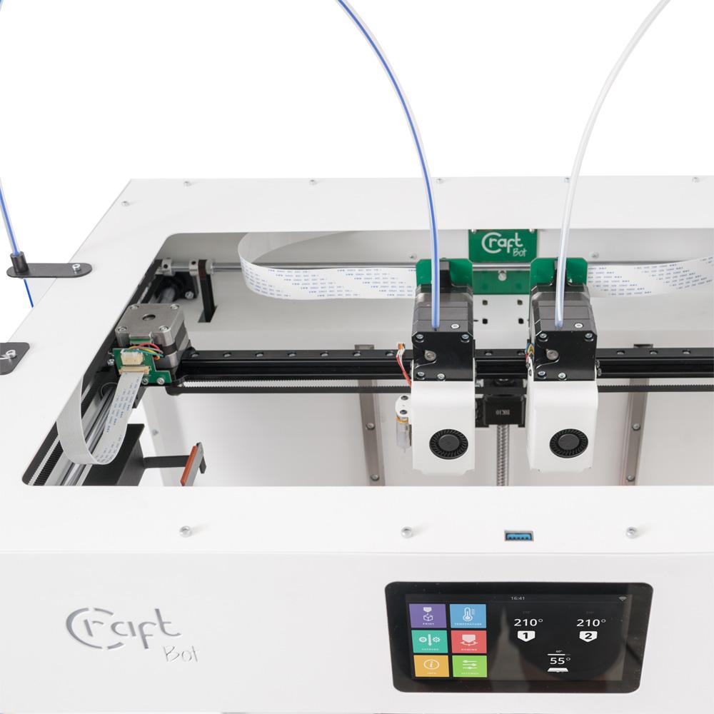 Craftunique Craftbot Flow IDEX Doppelextruder