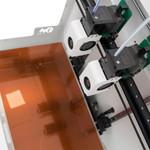 Craftunique Craftbot Flow IDEX Extruder und Druckbett 5
