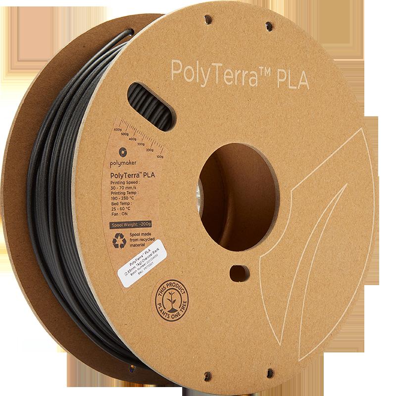 PolyTerra PLA schwarz 285