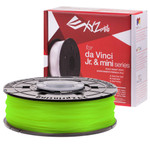 neon green XYZprinting Jr. PLA Filament  6