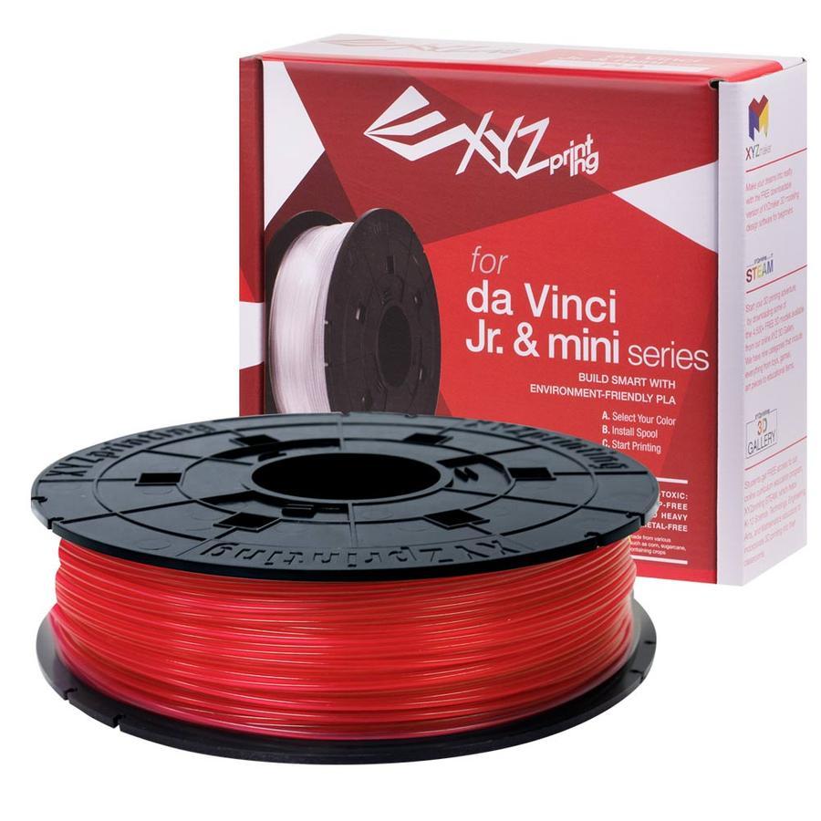 rot XYZprinting Jr. PLA Filament
