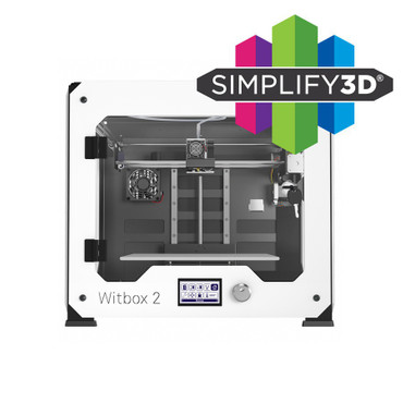 Bundle bq Witbox 2 3D-Drucker + Simplify3D