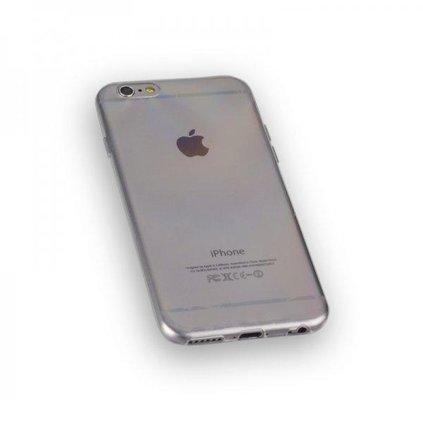Ultra Slim TPU Case Tasche für Apple iPhone 6, iPhone 6S - nur 0,8mm dick - Transparent