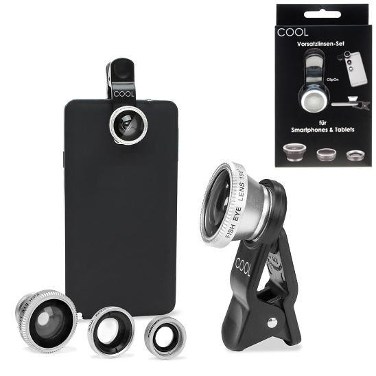 """Kamera-Linsen-Set """"COOL"""" für Smartphone"""