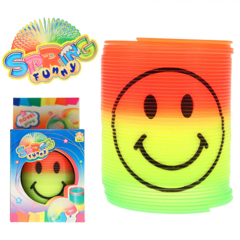 """Regenbogenspirale """"Smiley"""" 6,5 cm"""