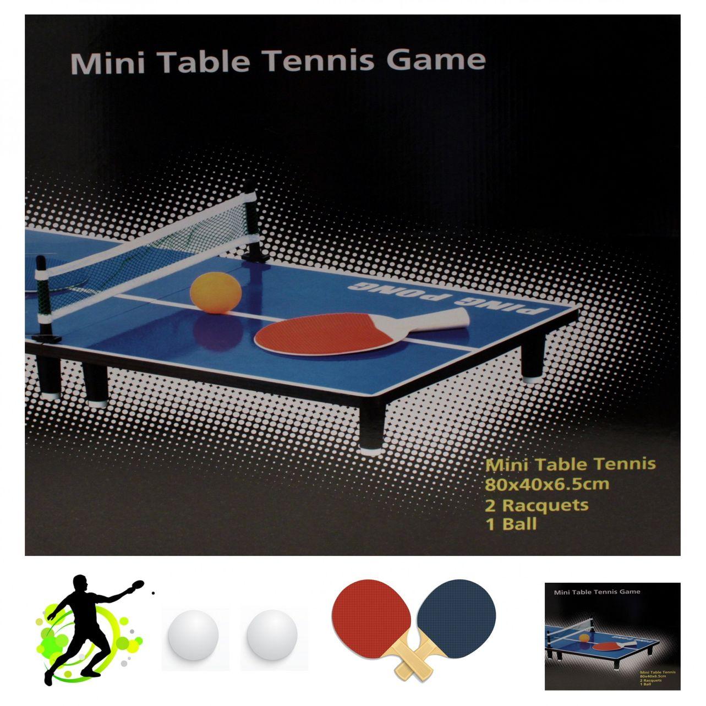 Tischtennis Set 80 x 40 cm
