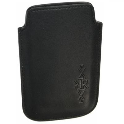 XiRRiX Vertikal Pouch Kunstleder Tasche - Größe: M - schwarz