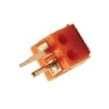 DIN-Lautsprecherstecker, schraubbar, DIN 41 529 für Autoradios - Rot