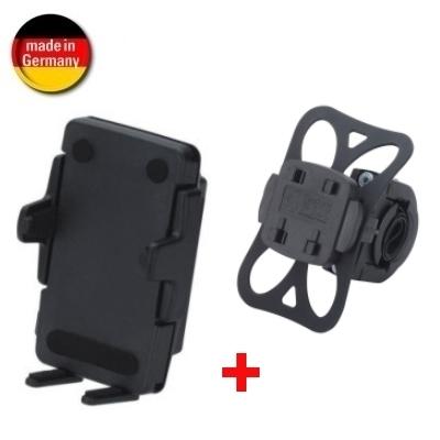HR Fahrrad-/ Motorrad Halter KIT - Schnellverschluss - für Geräte mit einer Breite von 46 bis 76 mm