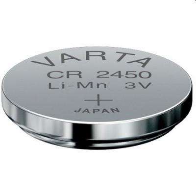 Knopfzelle Lithium CR 2450 Varta 3.0 Volt