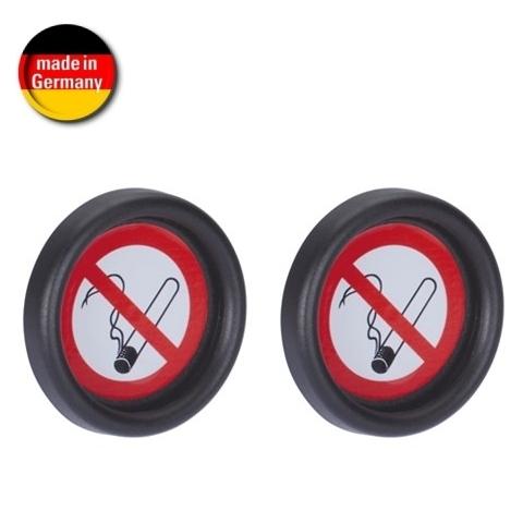 """HR Nichtraucher Hinweisschild """" Rauchen verboten"""" selbstklebende Befestigung (Made in Germany)"""