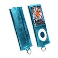 Krusell MP3 Player Encore Tasche 74141 für Apple iPod Nano 4G - blaumetallic