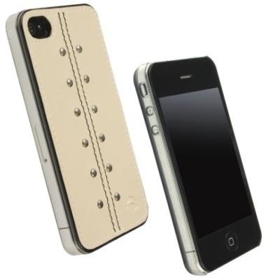 Krusell Kalix UnderCover 89508 nur für Apple iPhone 4 - Design: Kalix - Sand
