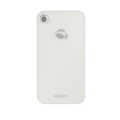Krusell Bioserie GlassCover 89642 für Apple iPhone 4S, iPhone 4 - Weiß