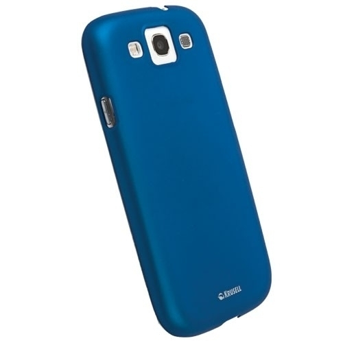 Krusell ColorCover 89681 für Samsung Galaxy S3 Neo, S3 LTE, S3 - Blau Metallic