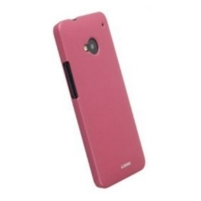 Krusell ColorCover 89850 für HTC One M7 - Pink Metallic
