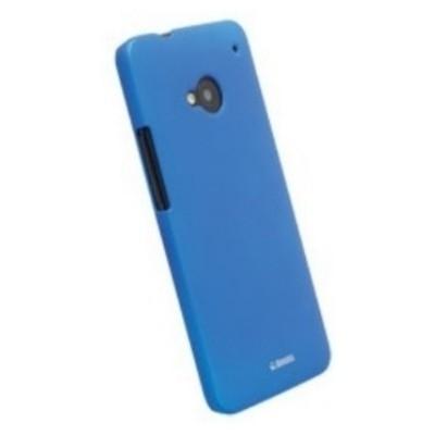 Krusell ColorCover 89851 für HTC One M7 - Blau Metallic