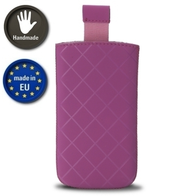 Valenta Pocket Neo Diamonds 14 - Tasche mit Easy-Out-Band - pink (Made in Europe)