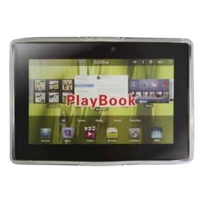 TPU Hülle / Skin für BlackBerry Playbook / Playbook 2.0 / Playbook 4G LTE - Transparent
