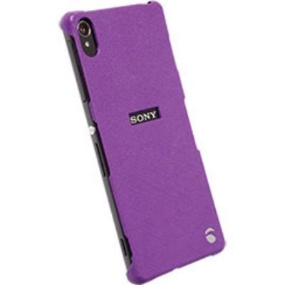 Krusell Malmö TextureCover Partner 90003 für Sony Xperia Z3, Xperia Z3 Dual - Violett