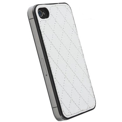 Krusell Avenyn Backcover 89727 - für Apple iPhone SE, iPhone 5S, iPhone 5 - weiß