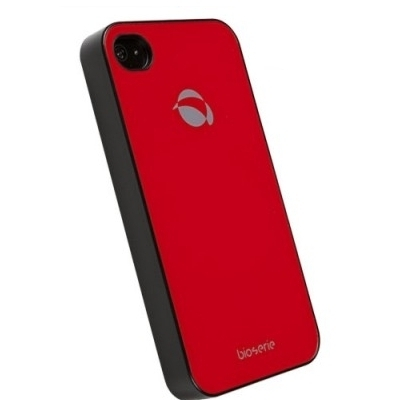 Krusell Bioserie GlassCover 89740 für Apple iPhone SE, iPhone 5, iPhone 5S - rot