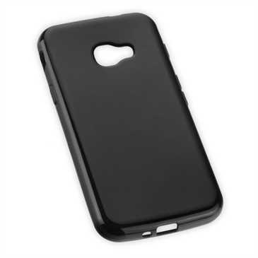 TPU Hülle Tasche für Samsung Galaxy Xcover 4 - schwarz