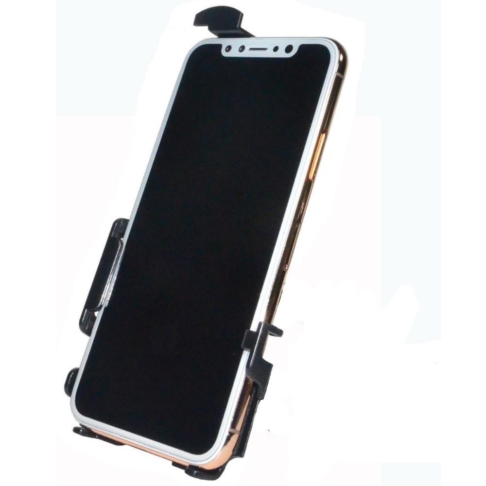 Haicom Halteschale für Apple iPhone XS, iPhone X - Hi-506 - Schwarz